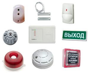 Монтаж системы пожарной сигнализации в офисе