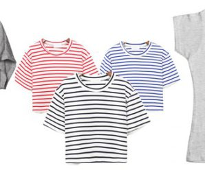 Модные женские футболки и майки лета 2016 года. Часть 1
