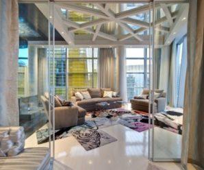 Зеркальные потолки в интерьере. Окончание