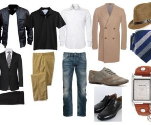 Выбираем мужской гардероб